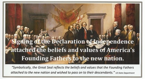 american values in the declaration of Declaration of american valueswe the people of the united states of america, at this crucial time in history, do hereby affirm the c.